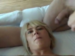 Amateur lady does several men in this scene.