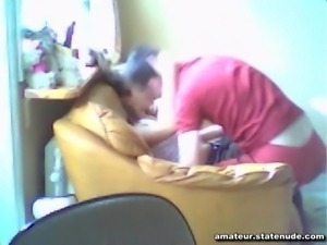 Brother and Sister Fucking on Home Video