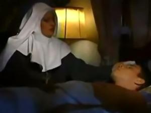 Italian Nun nurse fucking patient