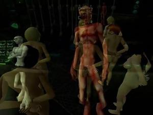 Sims2 porn Alien Sex Slave part 4