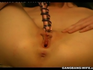 True amateur dutch girl Sandy, doing her first gangbang ever here. Sandy is...