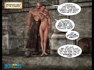 3D Comic: Tryst. Part 2 of 2
