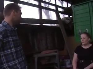 farmer fucking german chubby redhead