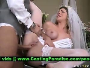 Kayla Paige stunning bride fucked realy hard