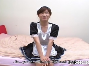 maid needs a dildo
