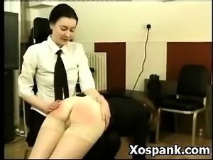 Spanking Gal In Vibrant Fetish Porn
