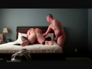 Cuck hubby likes cock too