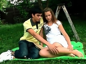 Hot beautiful girl receives drilled in various poses