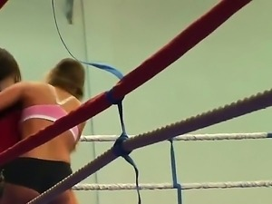 Lesbo wrestling with Cathy Heaven and Nelly Sullivan it is what would make...