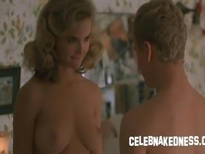 Celeb kelly preston nude bare natural breasts and bush in the movie mischief
