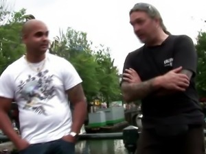 A sexy real dutch hooker giving head to a lucky guy