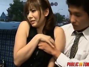 Yuma Asami enjoys some public fucking