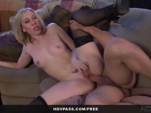 From the HD parody porn series Roseanne XXX, see stunningly beautiful babe...