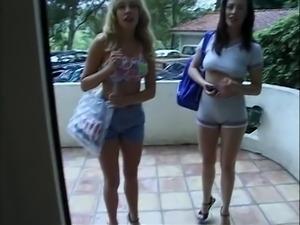 Alisha Klass & Samantha Stylle, 2 - A New Tush In Town