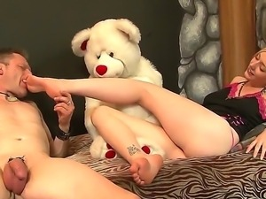 Foot fetish fun scene from Eric Jover and Rylie Richman would make you feel...