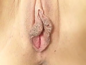 Gorgeous Latina girl gets her dark pussy gyno checked with iron gyno tool...