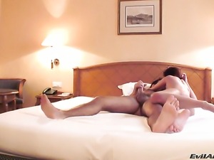 Manuel Ferrara gets pleasure from fucking pretty Graziella Diamonds butthole...