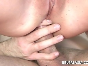 whore getting stuffed with cock
