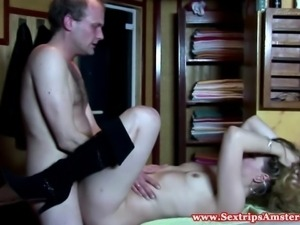 Dutch prostitute pumped with jizz in HD