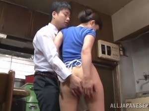 good in the kitchen and at sucking cock