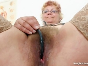 insanely horny old nurse