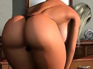 3D hentai tits