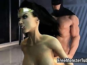 3d wonder woman