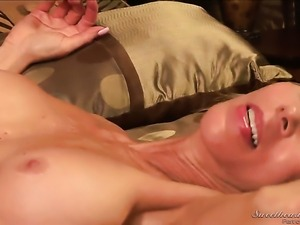 Erica Lauren makes her lesbian fantasies a come to life with Sara Stone