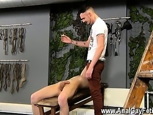 Gay XXX Adam is a real professional when it comes to violati