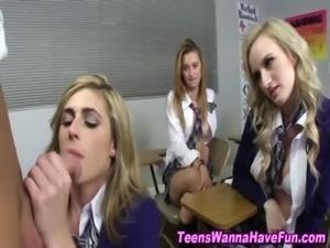 Real teen schoolgirls suck cock free