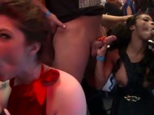 Drunk porn sluts bang in the club