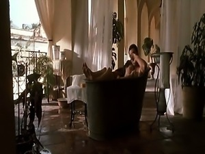 Angelina Jolie and Antonio Banderas in a very steamy love