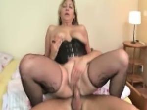 Nasty mature whore goes crazy sucking part5