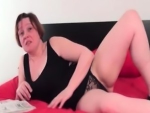 Fat granny gets kinky while riding porn part6