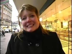 Blonde BBW Christine wants anal