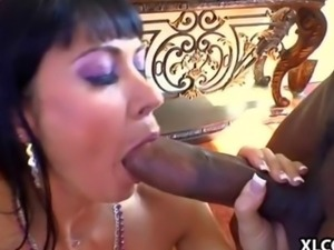 Two big dicks in Eva Karera are just enough