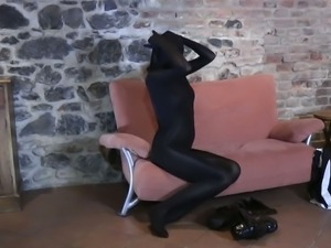Spandex: Babe Sexy lady in amazing clothes