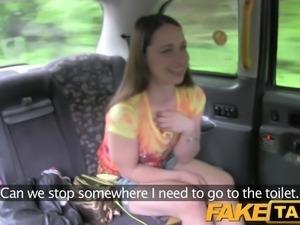 FakeTaxi - London tourist fucks like a Pro