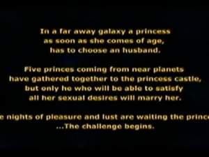 3D adventures a a nubile princess & her exotic collection of lovers