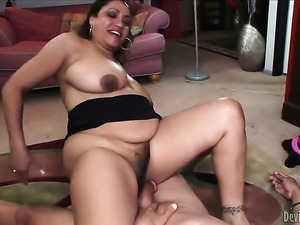 Kira B is good on her way to make hot fuck buddy explode in hardcore action