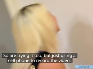 PublicAgent - Pretty blonde fucks a big cock