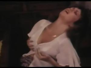 solo retro masturbation on chair