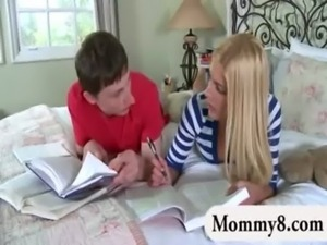 Horny stepmom always gets what she wants free