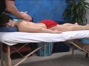 Massage with a surprise fuck