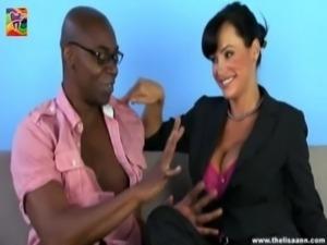 Lisa Ann - Interracial Cock Junky free