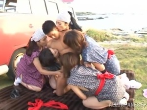 japanese beach party