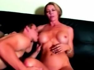 hot horny blonde sports milf Sandra