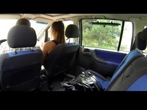Fucking A Nice Hooker in Car BVR