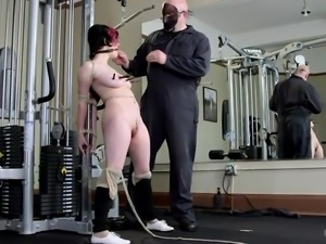 punishing training in the gym