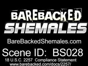 Bareback Sex With Blonde Shemale